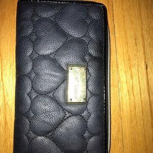 Black Betsy Johnson wallet